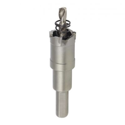 25mm TCT Thin Steel Holesaw with Arbor